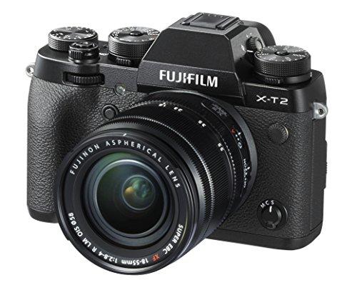 Fujifilm X-T2 Czarny + 18-55mm