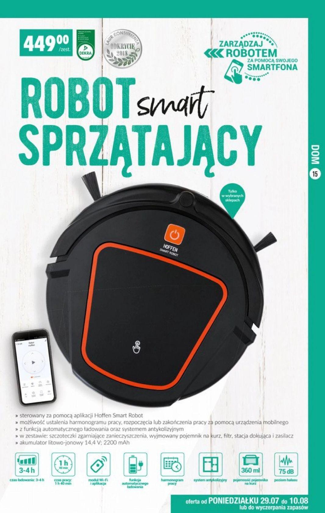 Smart Robot Sprzątający - Biedronka