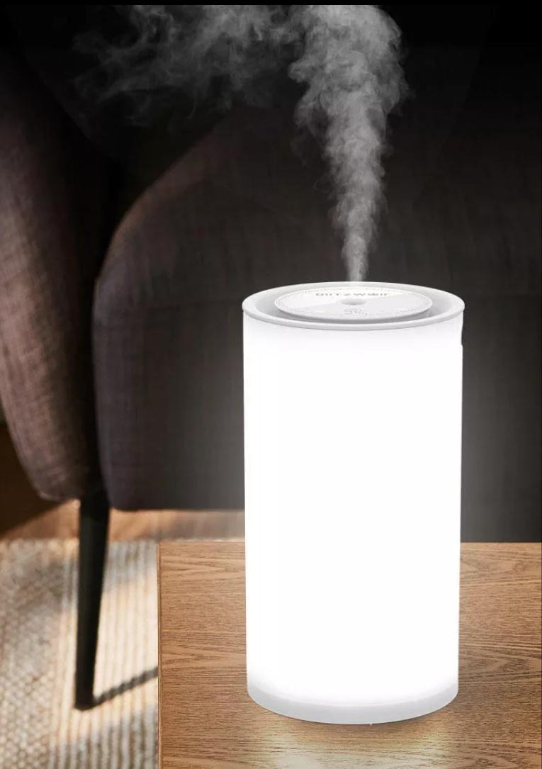 Poręczny nawilżacz powietrza na USB
