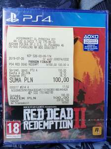 Red Dead Redemption II PS4/Xbox One Auchan Gliwice