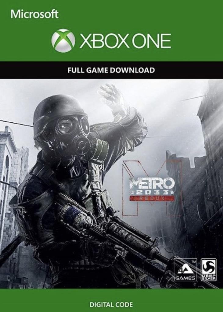 Metro 2033 Redux Xbox one