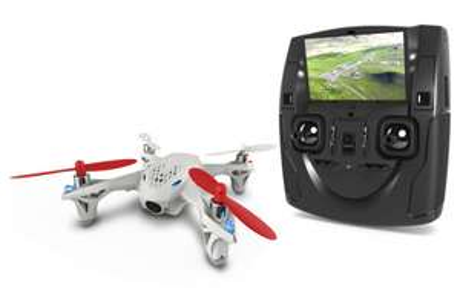 Dron z podglądem obrazu na żywo FPV