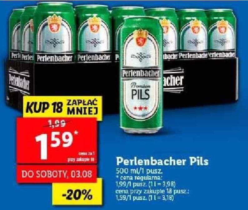 18x piwo Perlenbacher Pils (1,59 zł za 1) @ Lidl