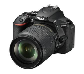Aparat Nikon D5600 + AF-S DX 18-105