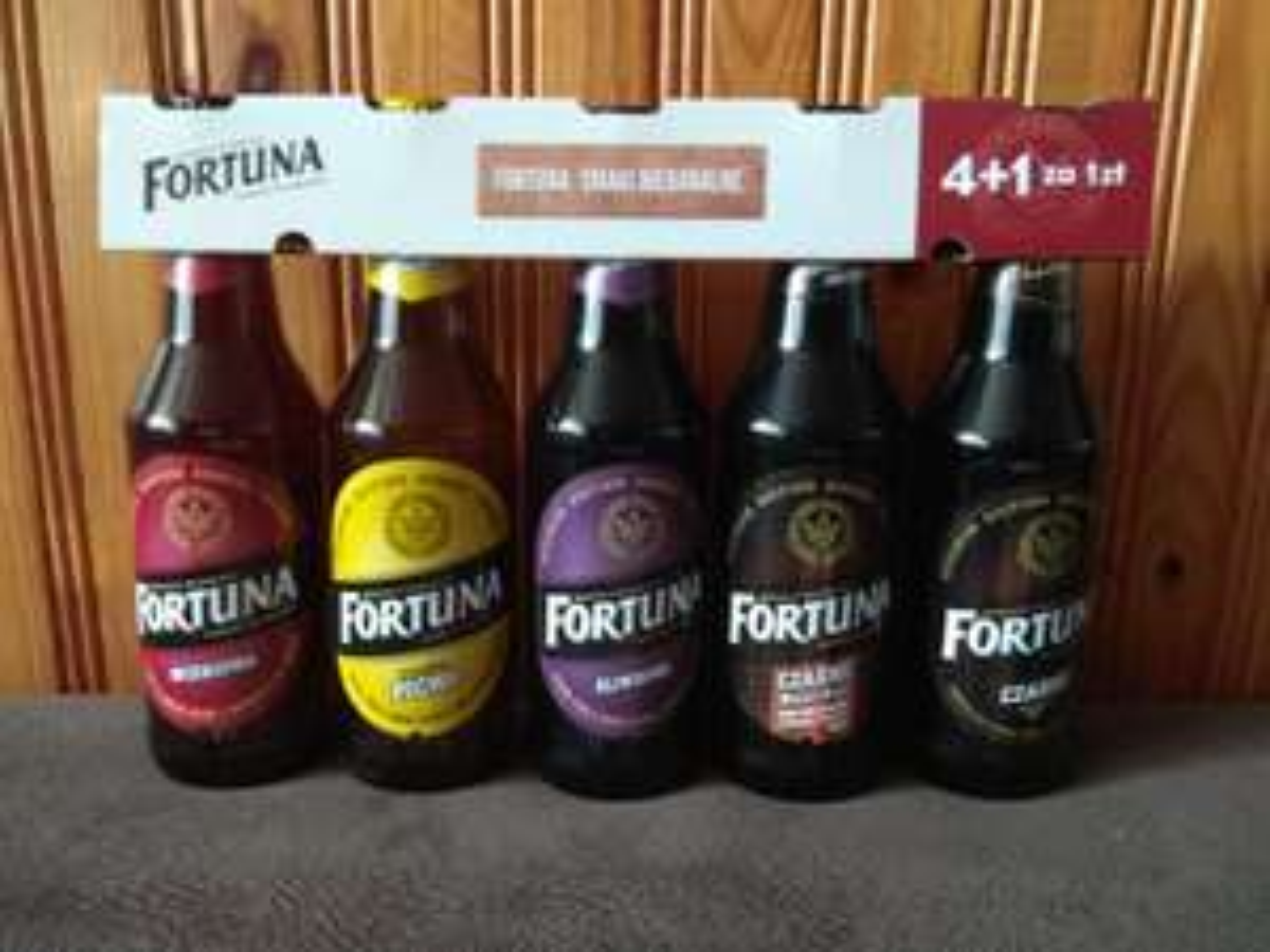 Fortuna, zestaw 5 piw w Bi1, ogólnopolska