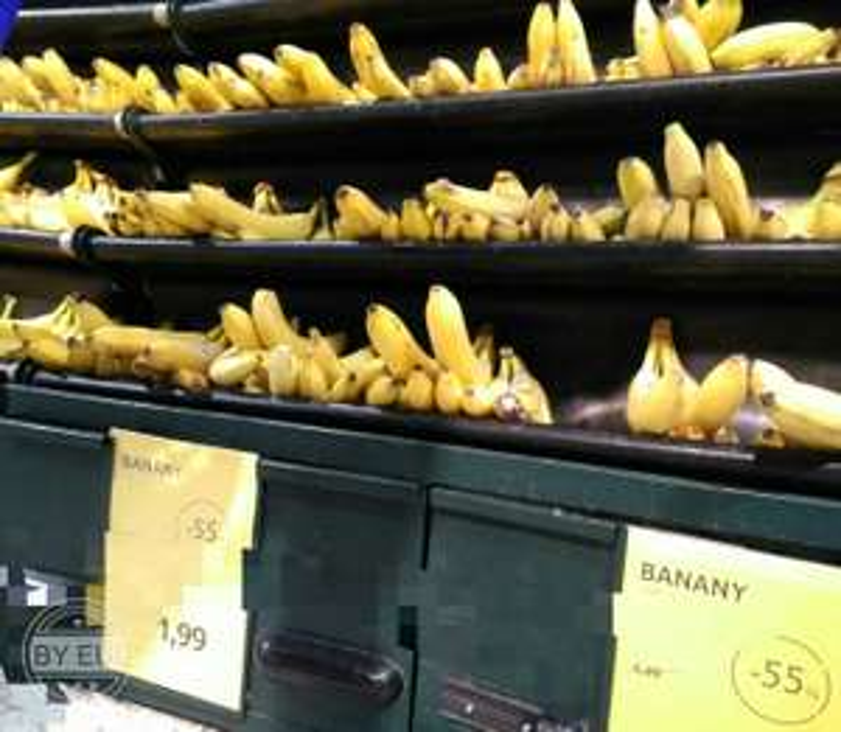 banany 1,99, arbuz 0,99 zł - Tesco Górczewska W-wa