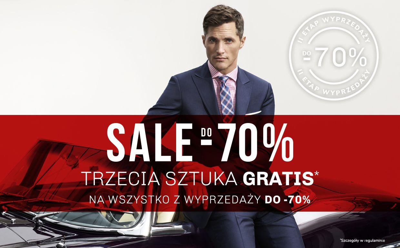 Vistula -70% dodatkowo trzecia sztuka gratis