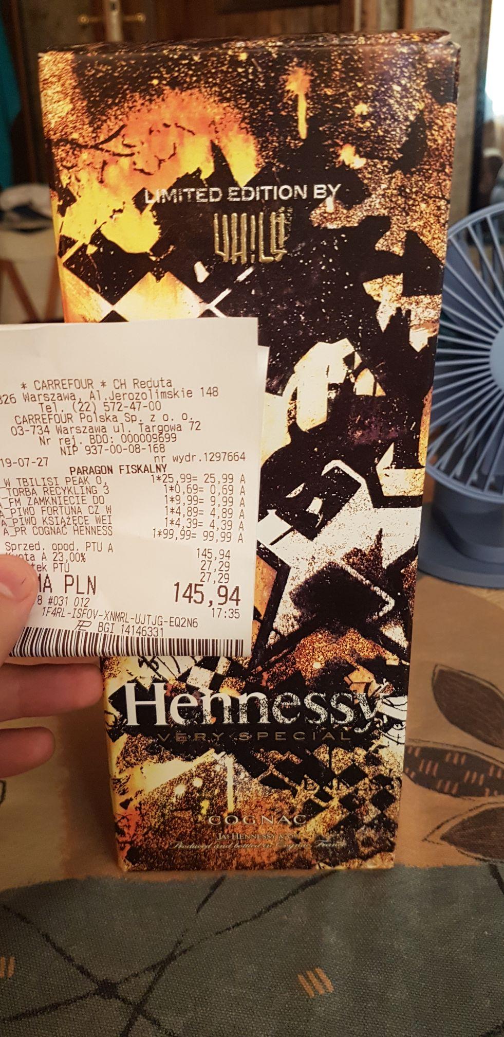 Hennessy VS Limited Edition 0.7l Carrefour Reduta Warszawa