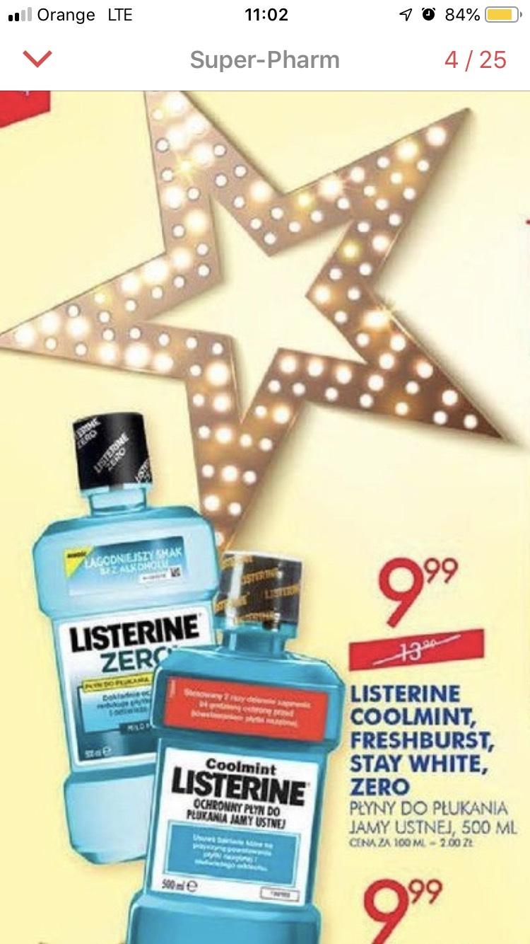 Listerine 500ml W Super-Pharm