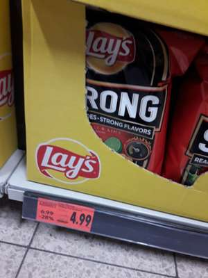 Lays strong chilli & lime 265 g