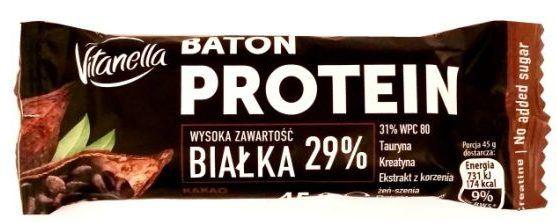 Baton protein Vitanella w Biedronce