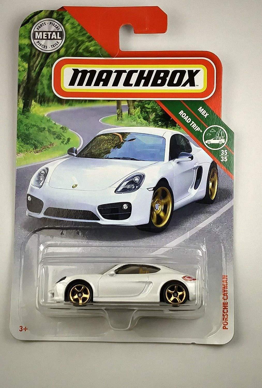 Matchbox 2018 MBX Road Trip - Porsche Cayman (biały) - Biedronka
