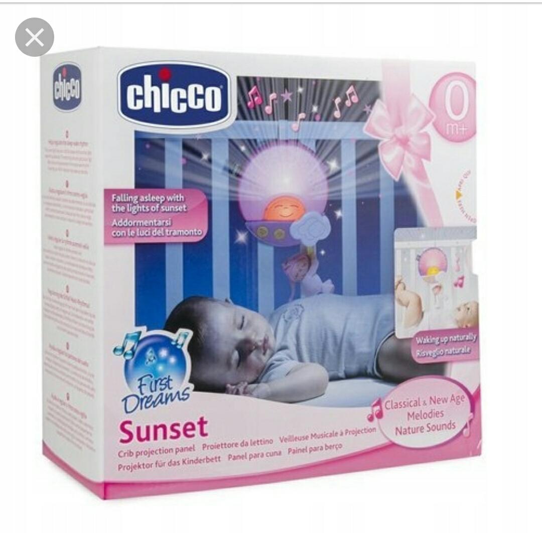CHICCO Panel na łóżeczko wschód / zachód słońca