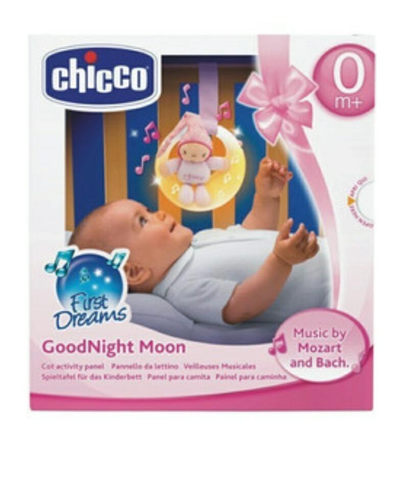 CHICCO Muzyczny księżyc różowy