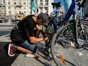 Darmowy serwis rowerowy w Warszawie