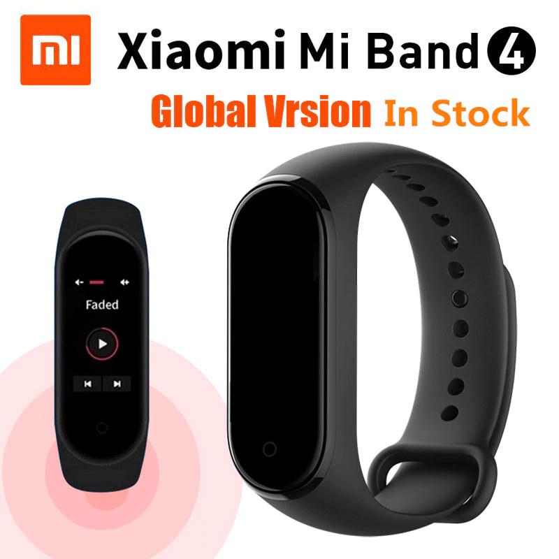 Opaska Xiaomi Mi Band 4 CN 25,29$ z kodem