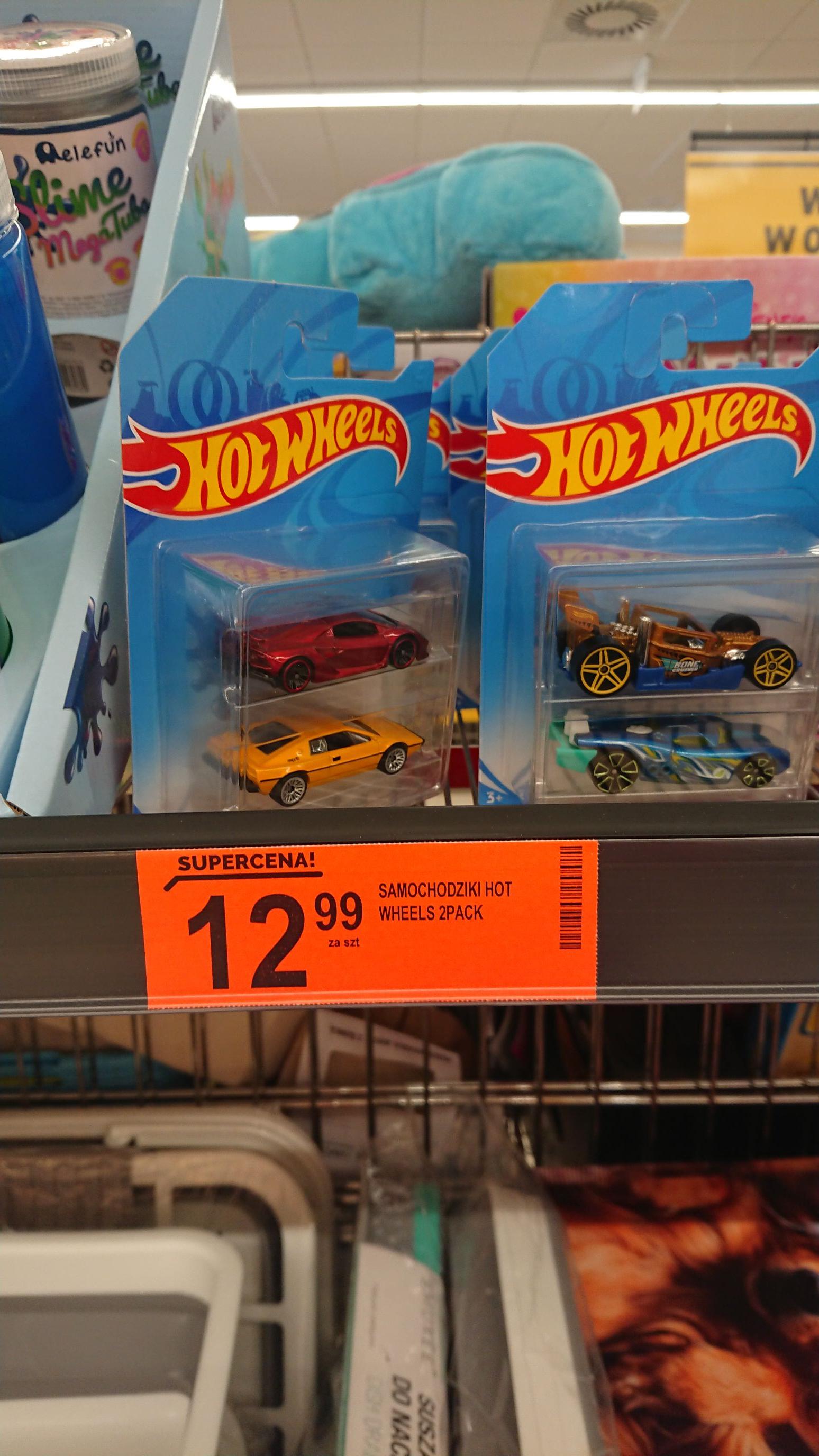Biedronka - 2 samochody Hot Wheels w cenie jednego