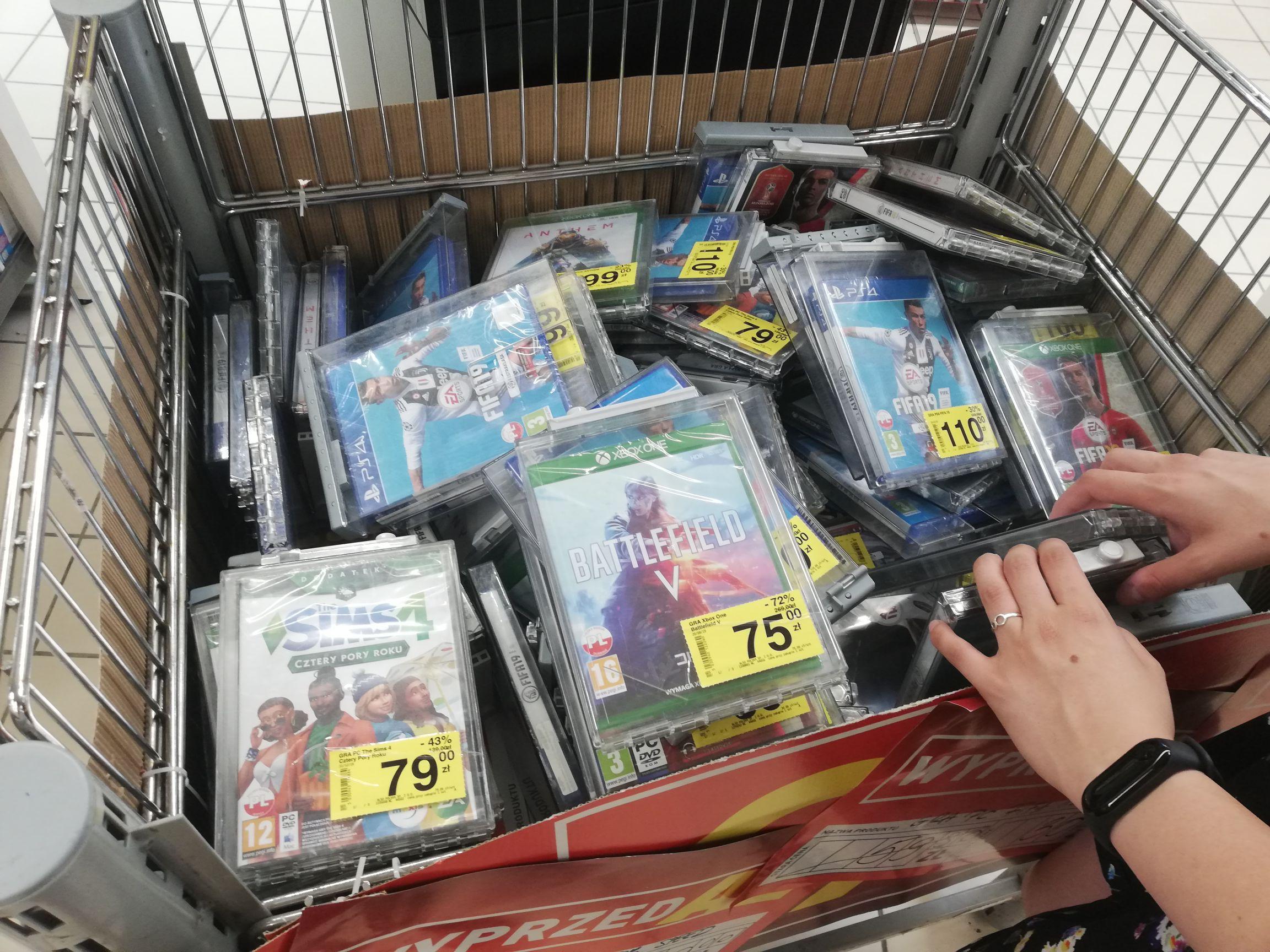 Wielka przecena na gry Xbox One, playstation 4 i PC
