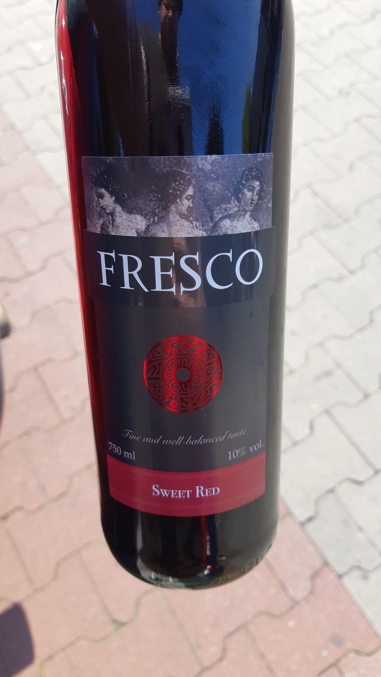 Wino FRESCO Czerwone Słodkie - Biedronka