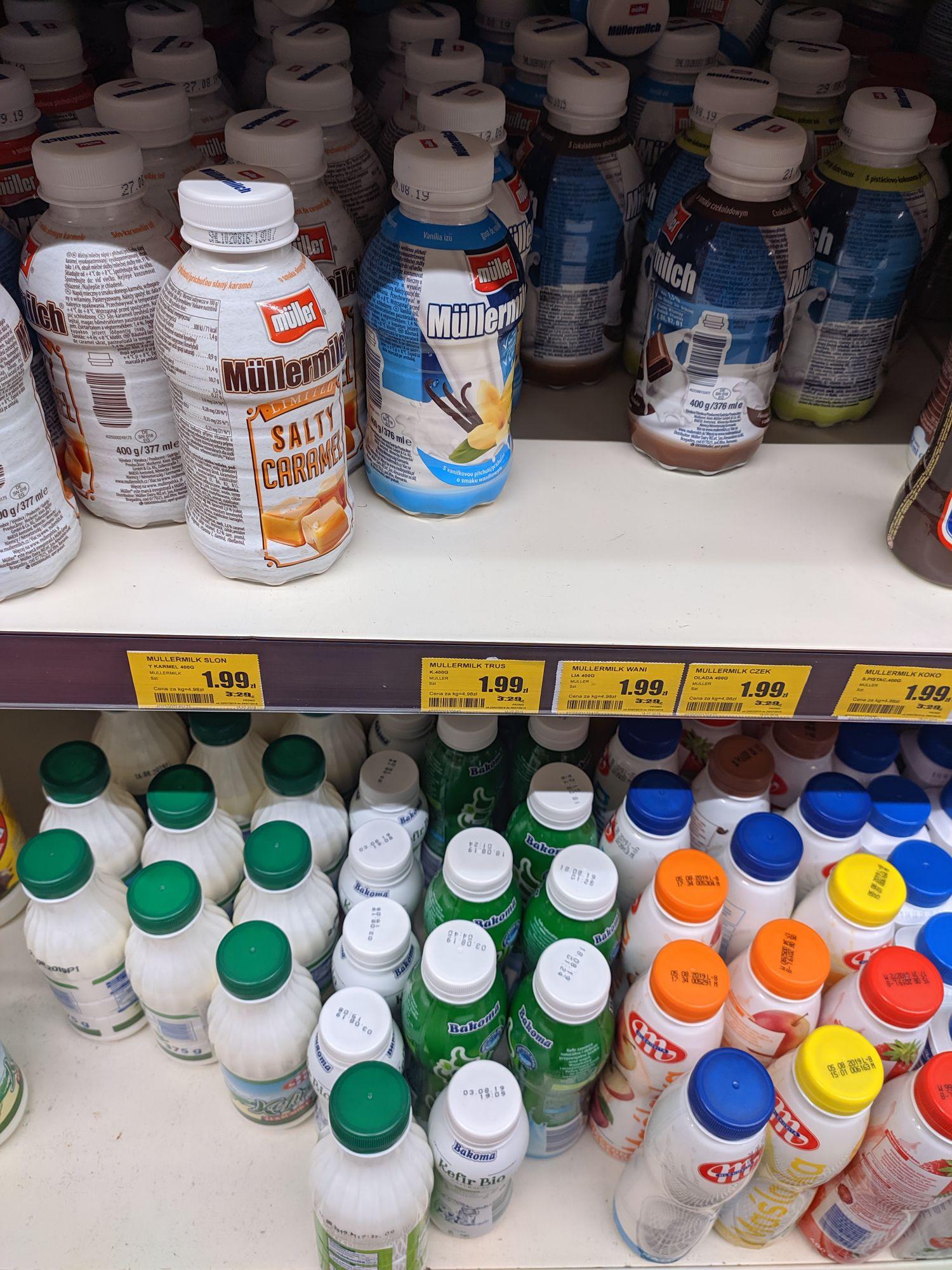 Müllermilk w super cenie - Rzeszów