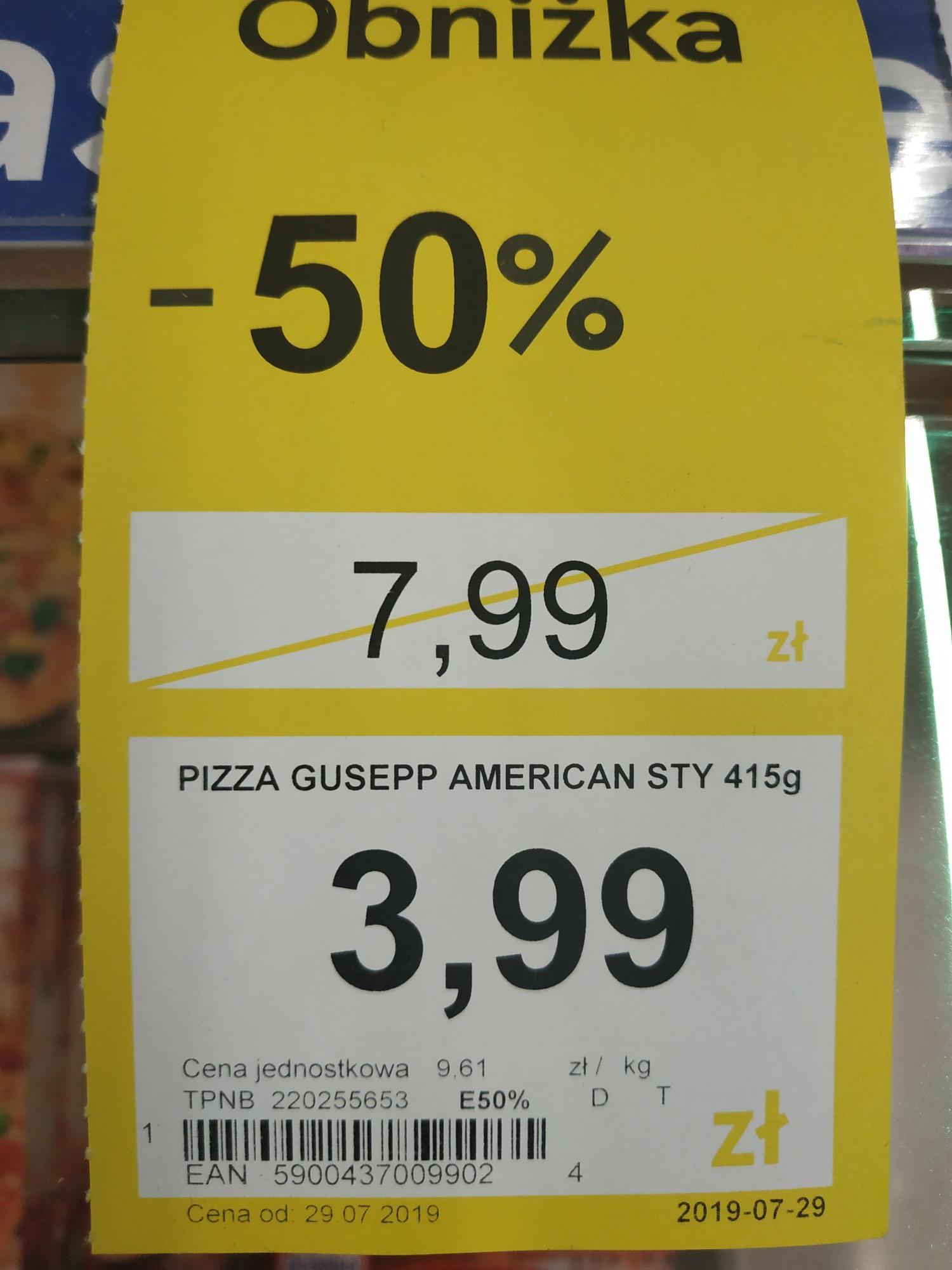 Pizza Guseppe Amercian Style 415g @TESCO