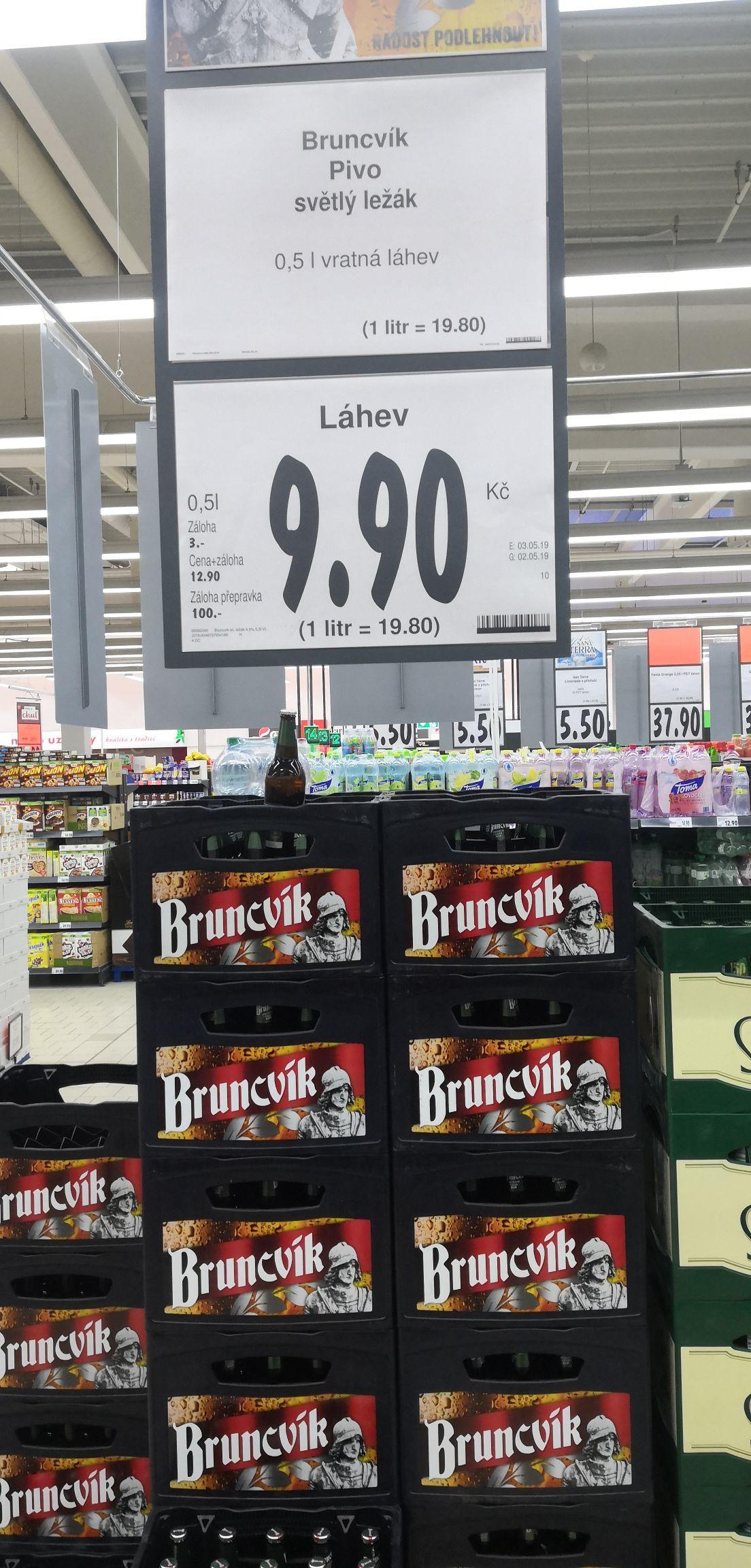 30 lipca Kaufland Czechy wszystkie piwa minus 30% na przykład