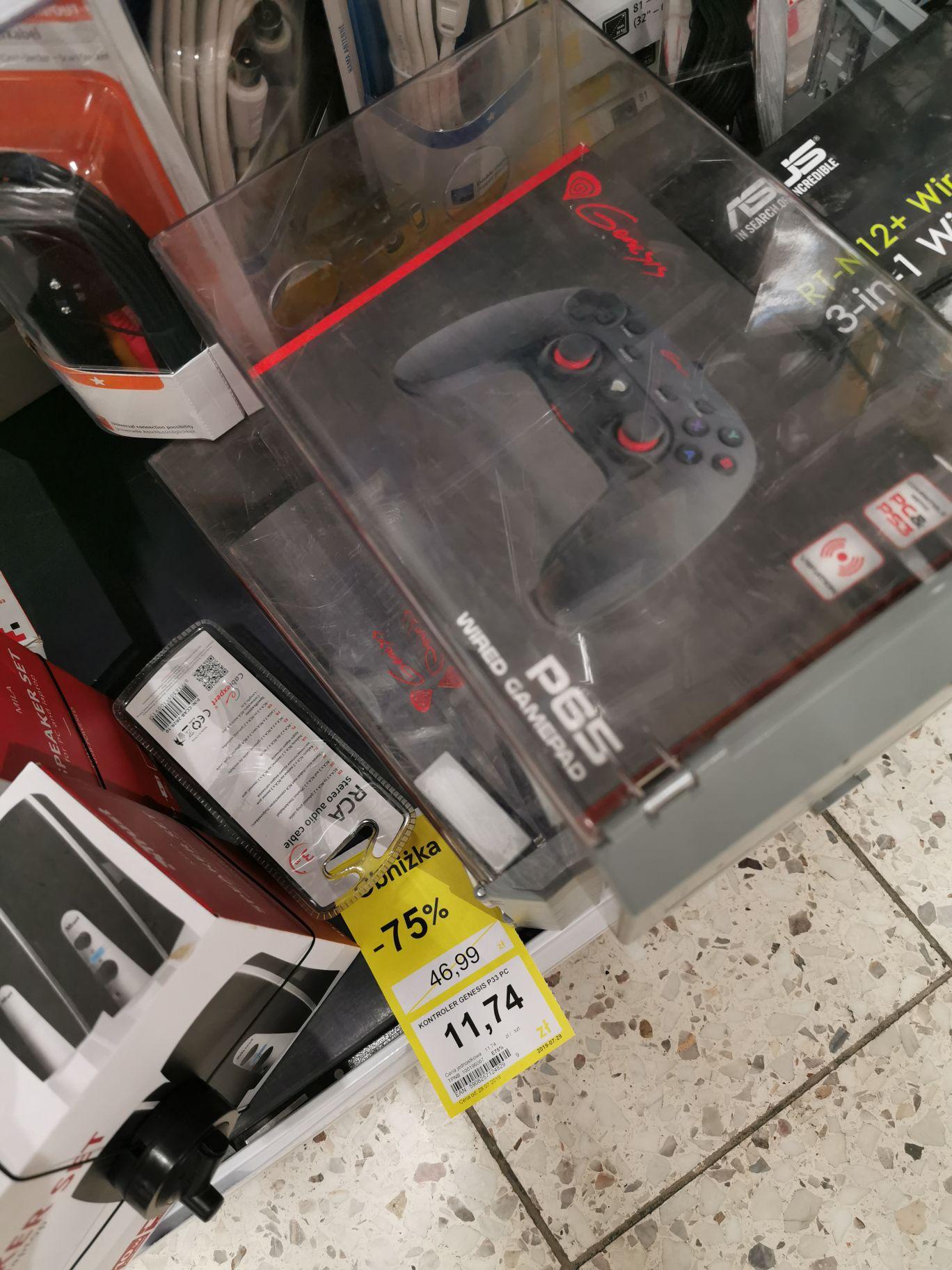 Kontroler Genesis PC / PS3 - Tesco