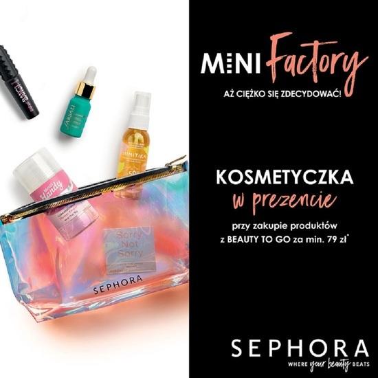 Sephora oferta wakacyjna kosmetyczka przy zakupie powyżej 79 zł