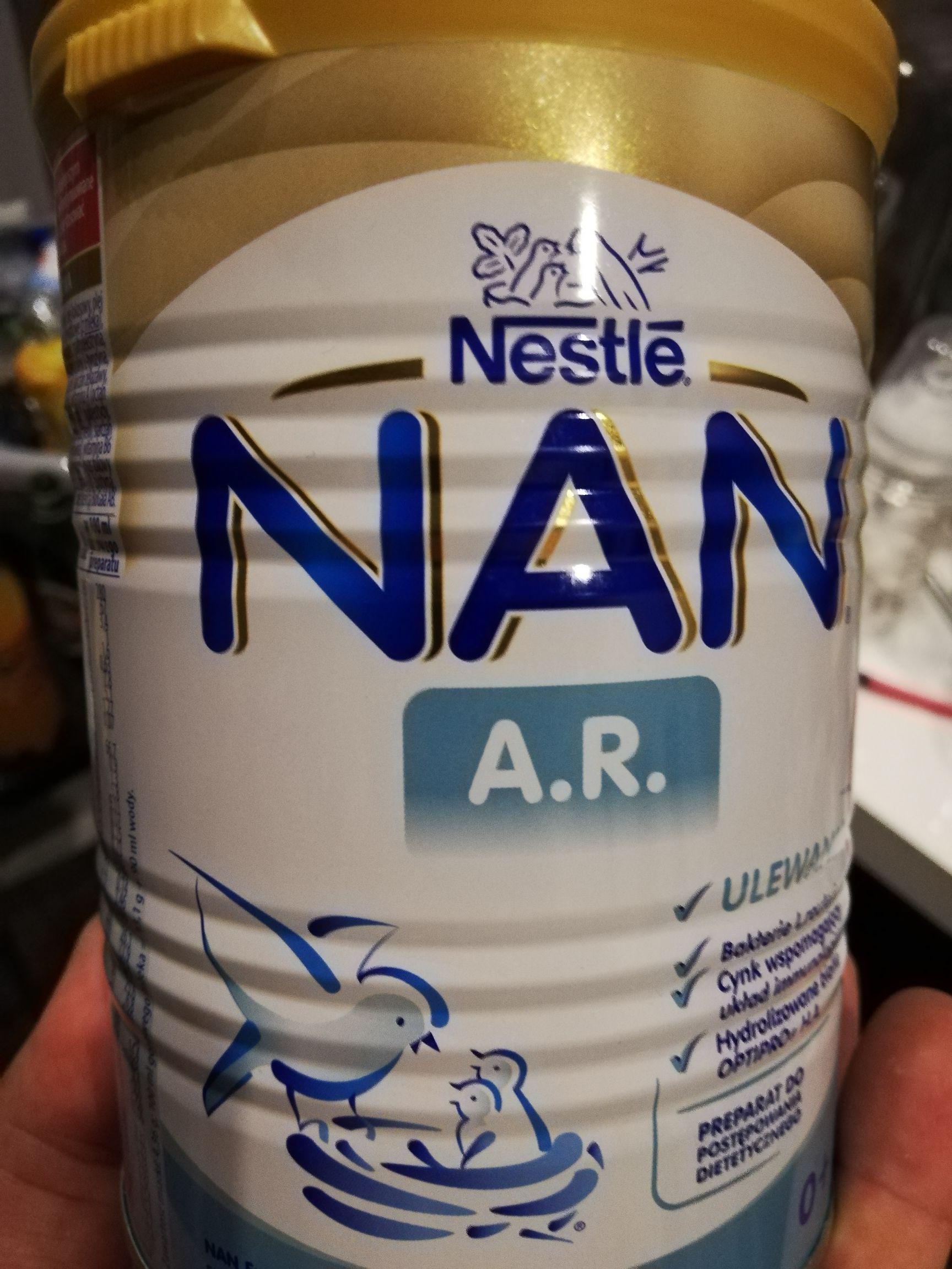 Nestle NAN A. R. w super cenie w Tesco Lublin.