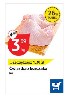 Ćwiartka z kurczaka 3,69zł @ Tesco