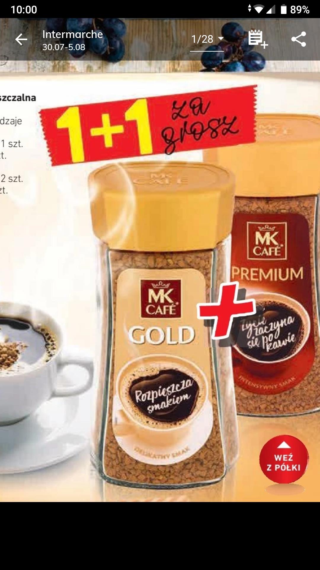 Intermarche Kawa rozpuszczalna Mkcafe 2szt.