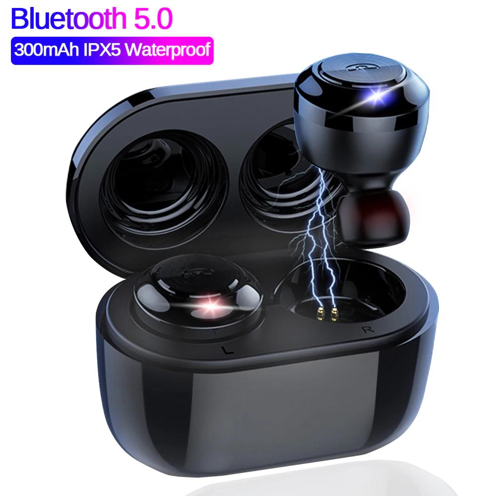 Słuchawki douszne Bluetooth 5.0 dobre do audiobooków i ukrycia w pracy za 12.27$ ;) TWS X8