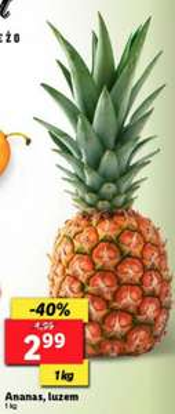 Ananas 1kg @Lidl