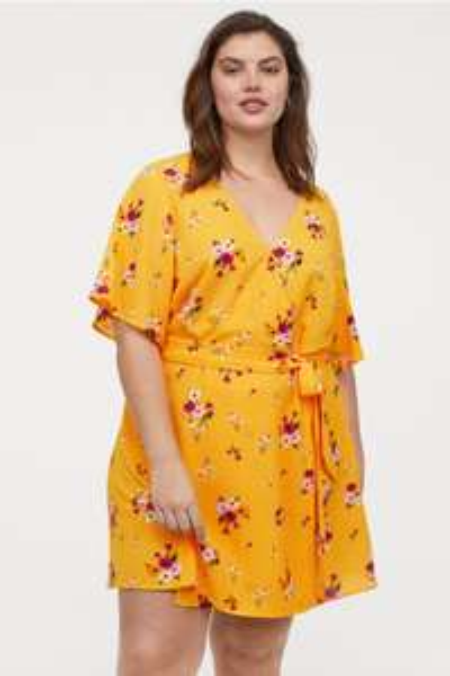 Sukienka plus size h&m