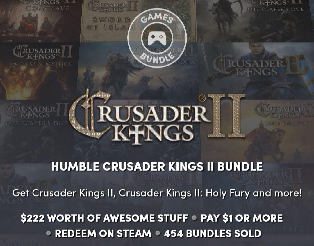 Crusader Kings 2 wszystkie istotne DLC