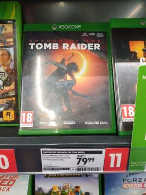 Tomb Raider shadow of the