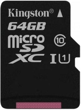 Karta pamięci KINGSTON Canvas Select, microSDXC, 64 GB