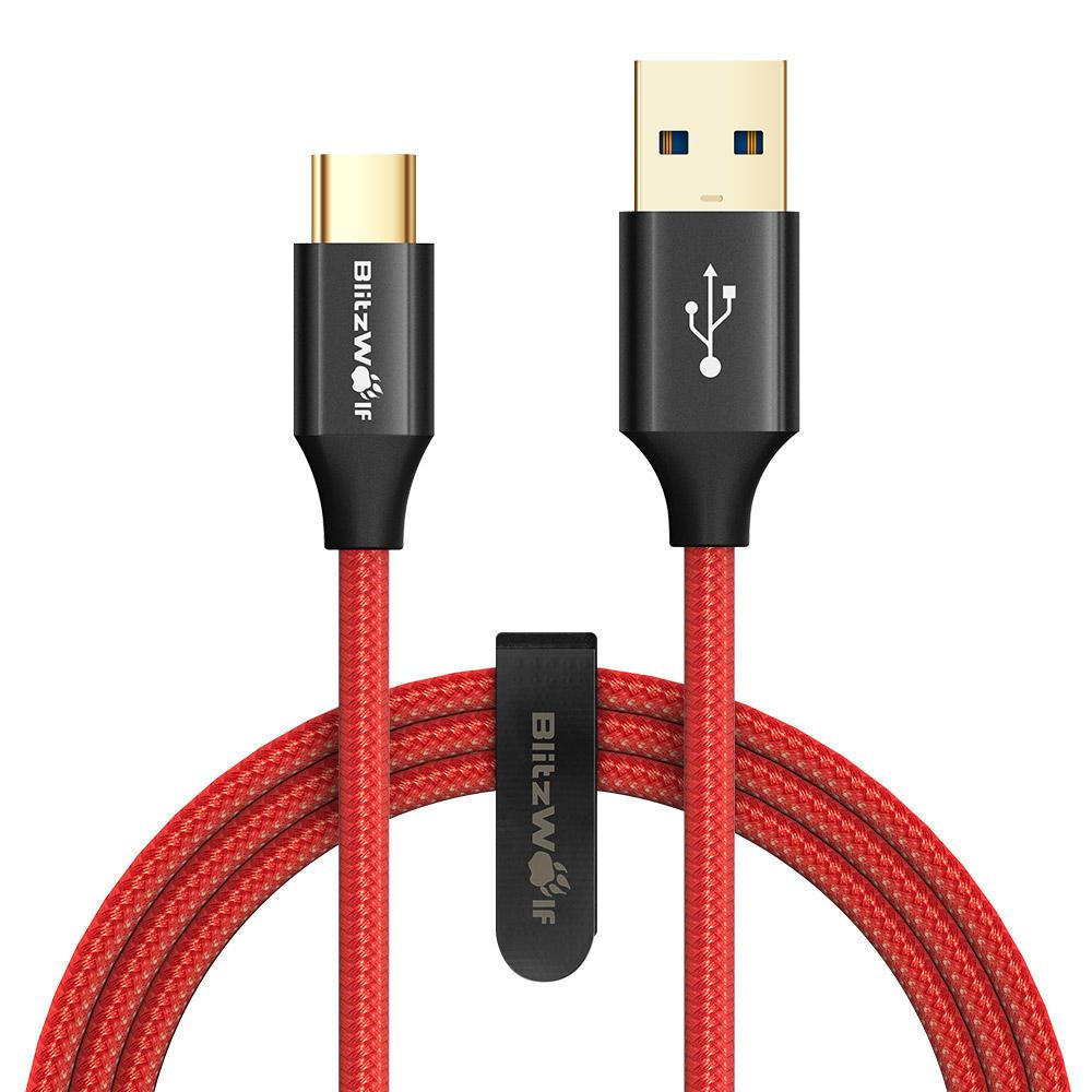 Kabel USB blitzwolf z szybkim ładowaniem