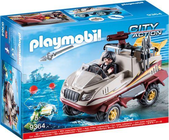 Zestaw Playmobil Amfibia za 45zł @ HulaHop