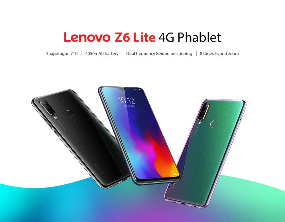 Lenovo Z6 LITE GLOBAL SNAPDRAGON 710