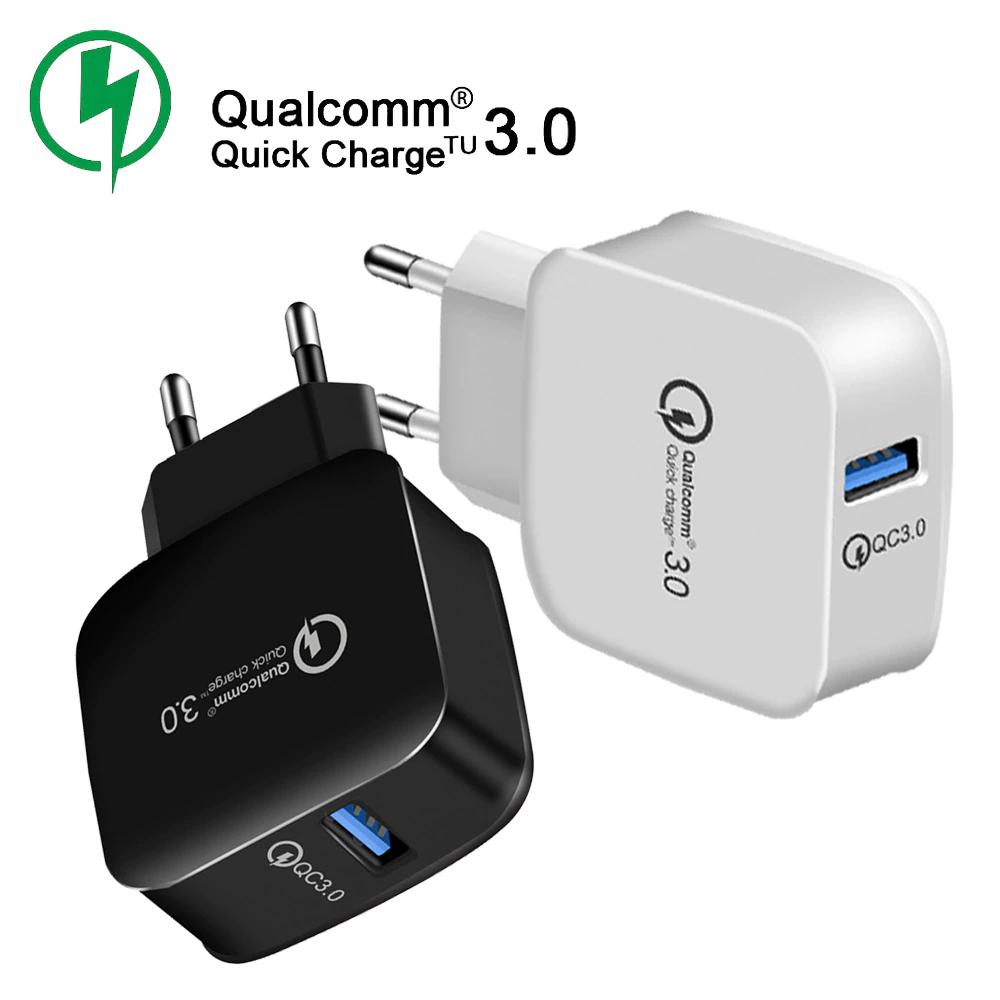 Budżetowa ładowarka 1 x USB QQ 3.0 za 1,87$ - model LZ-008