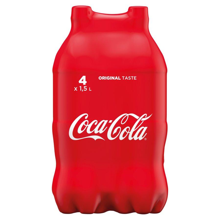 Zgrzewka Coca-Cola 4x1,5l Tesco