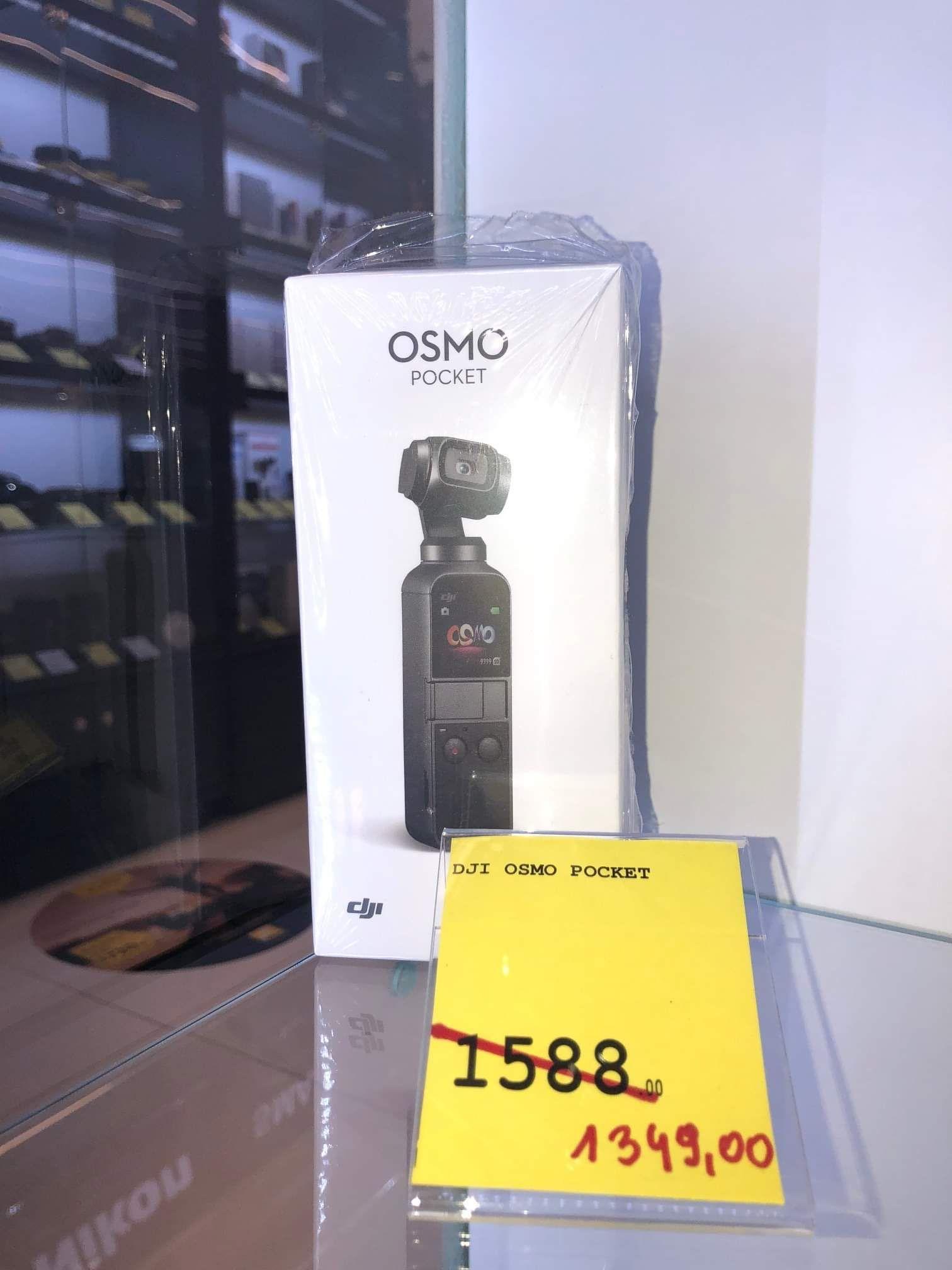 Kamera z gimbalem DJI Osmo, super okazja w salonie AB Foto (Warszawa Galeria Młociny) + na stronie www