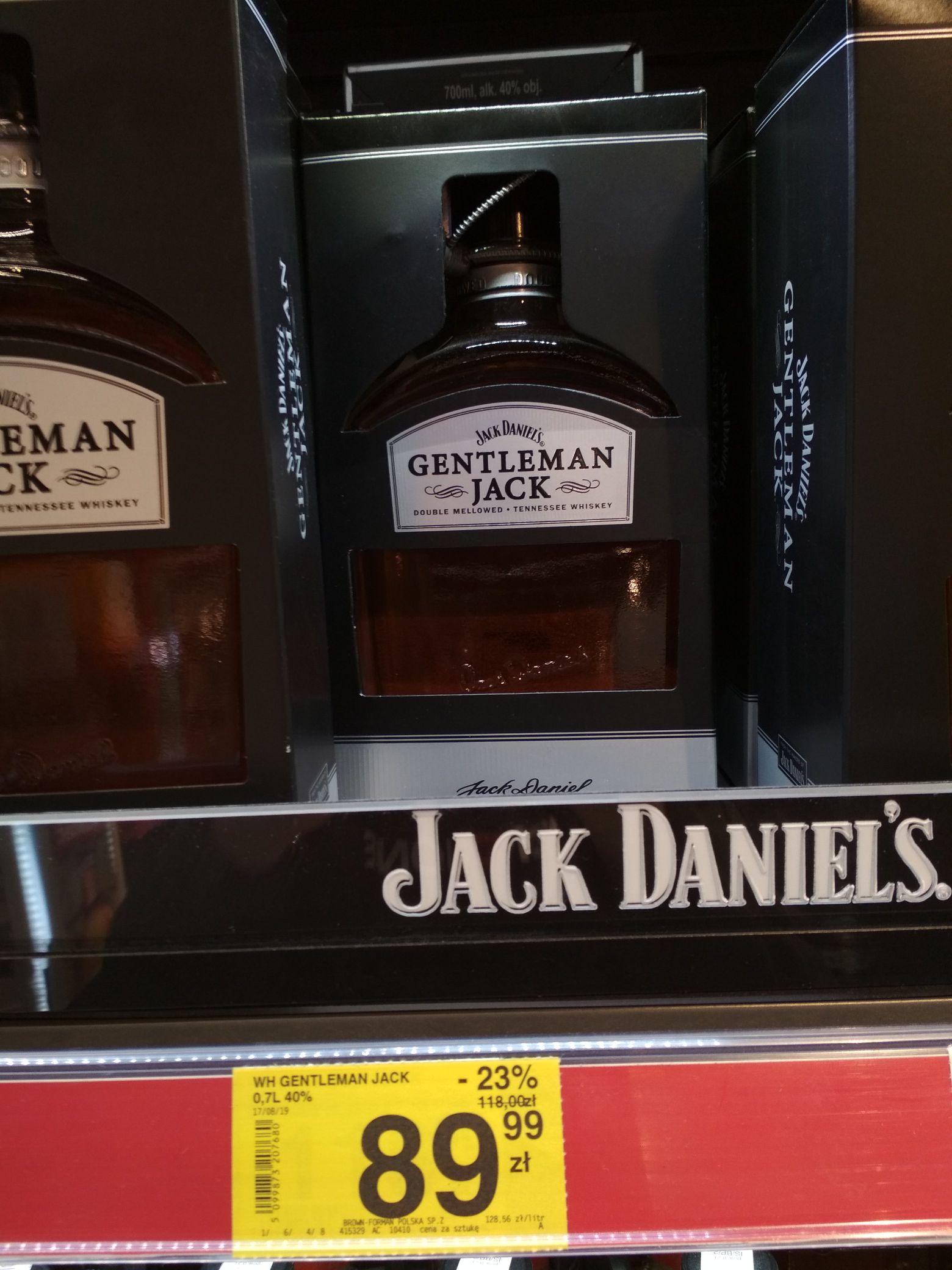 Whiskey Gentleman Jack Carrefour