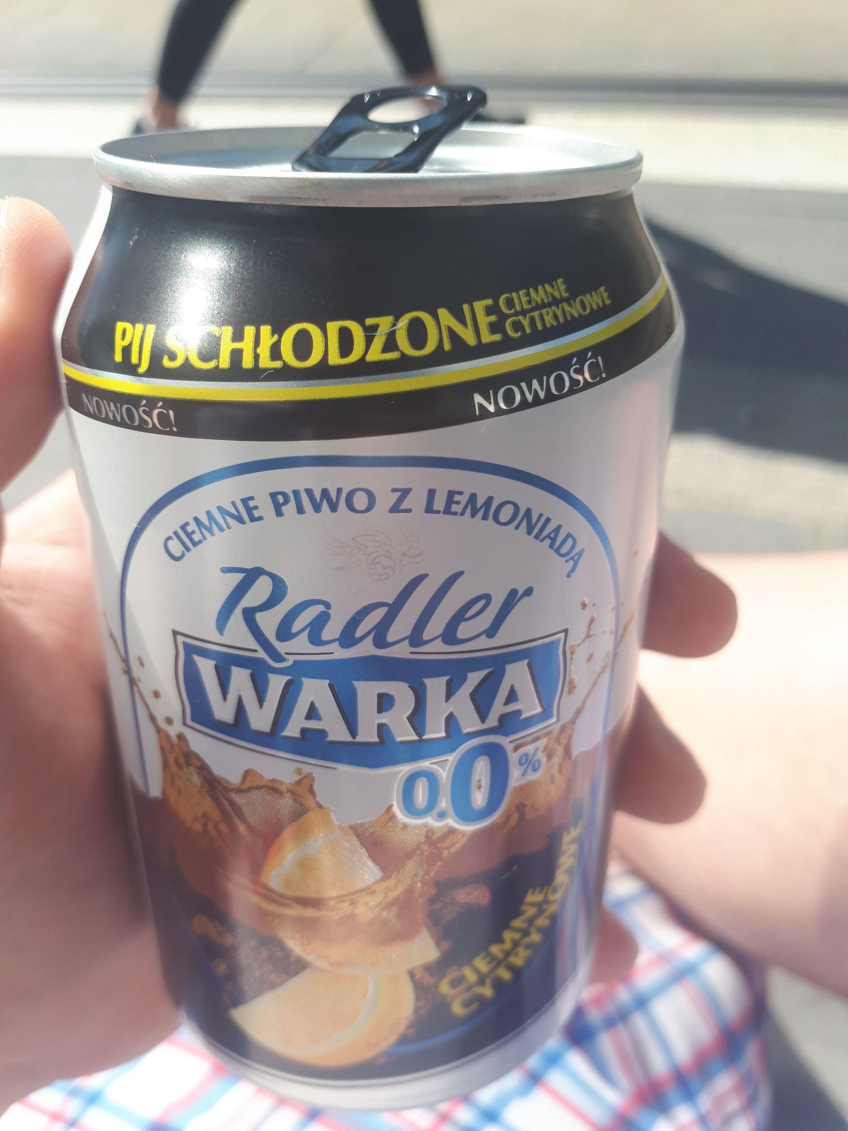 Warka radler za darmo w Olsztynie na starym mieście