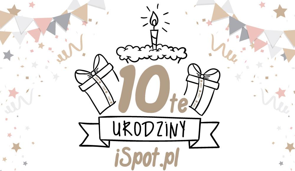Przeceny na 10. urodziny iSpot