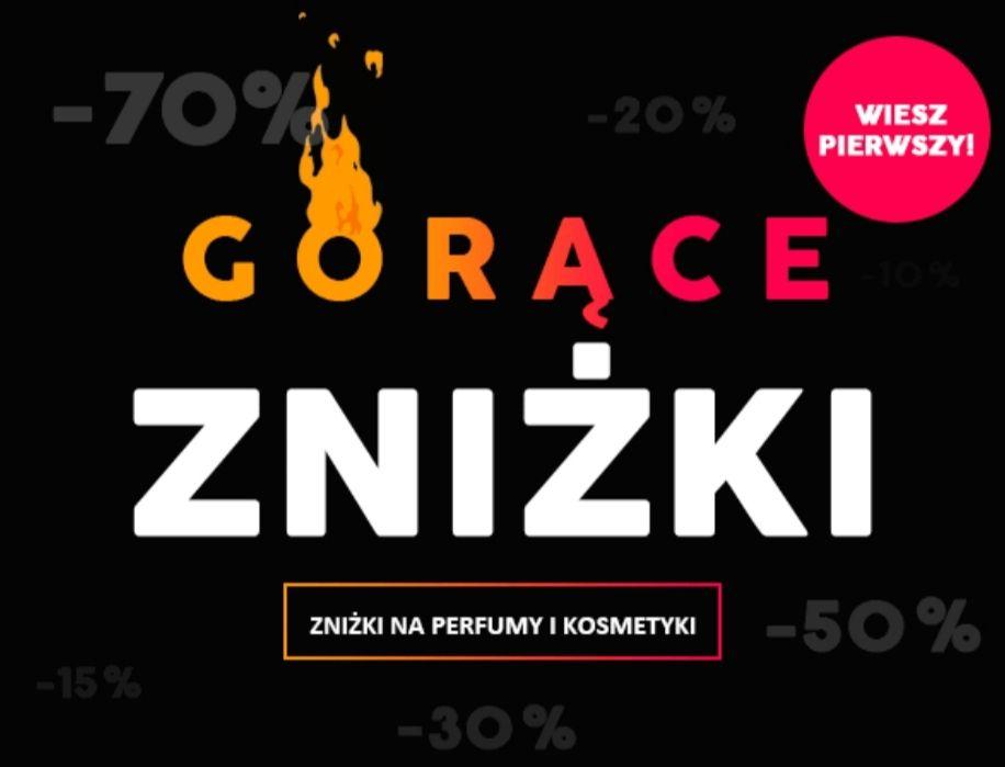 Gorące zniżki na perfumy damskie/męskie  dostawa od 7zł