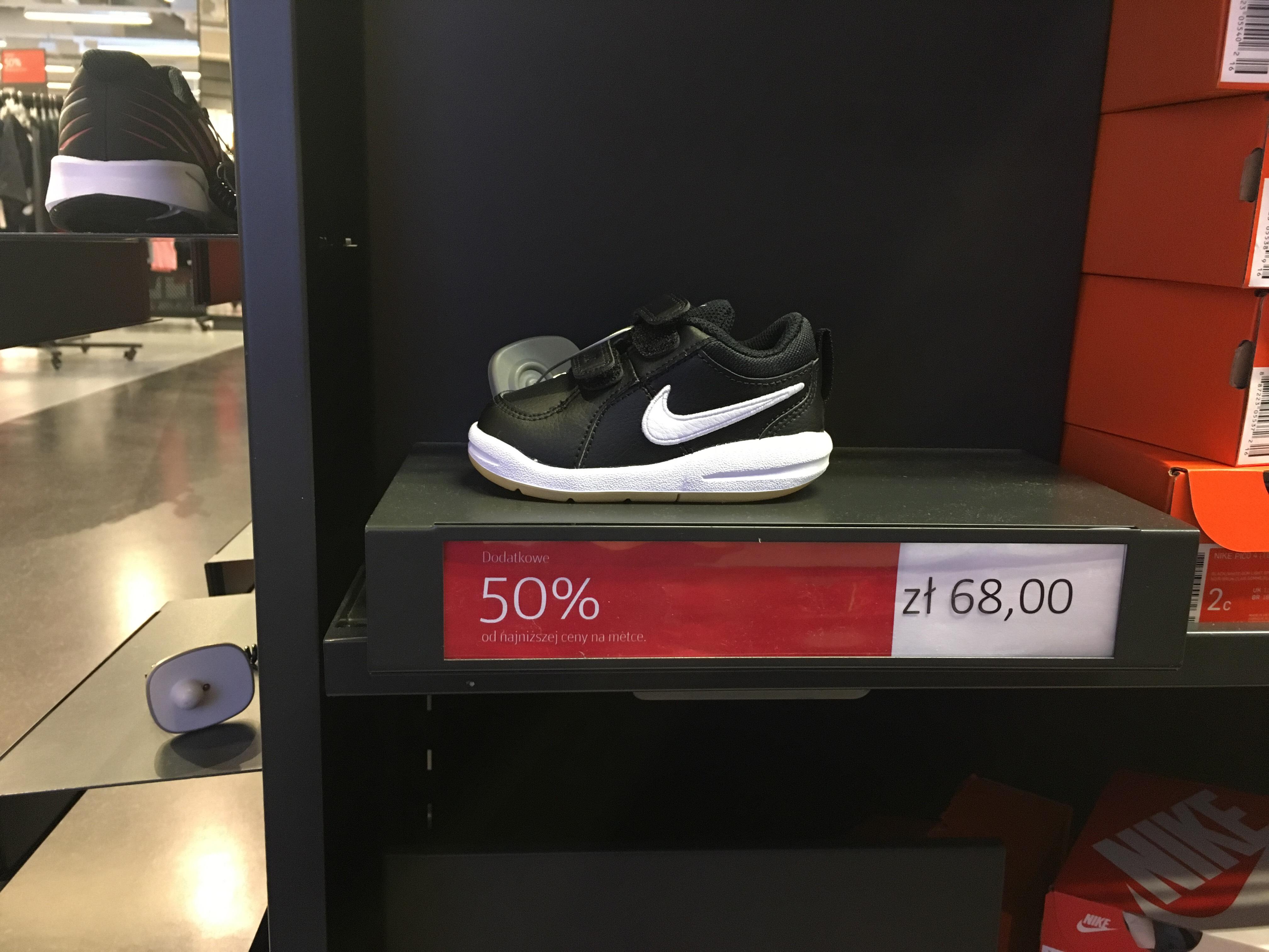 Buty dziecięce Nike factory Annopol -50% od ceny na metce