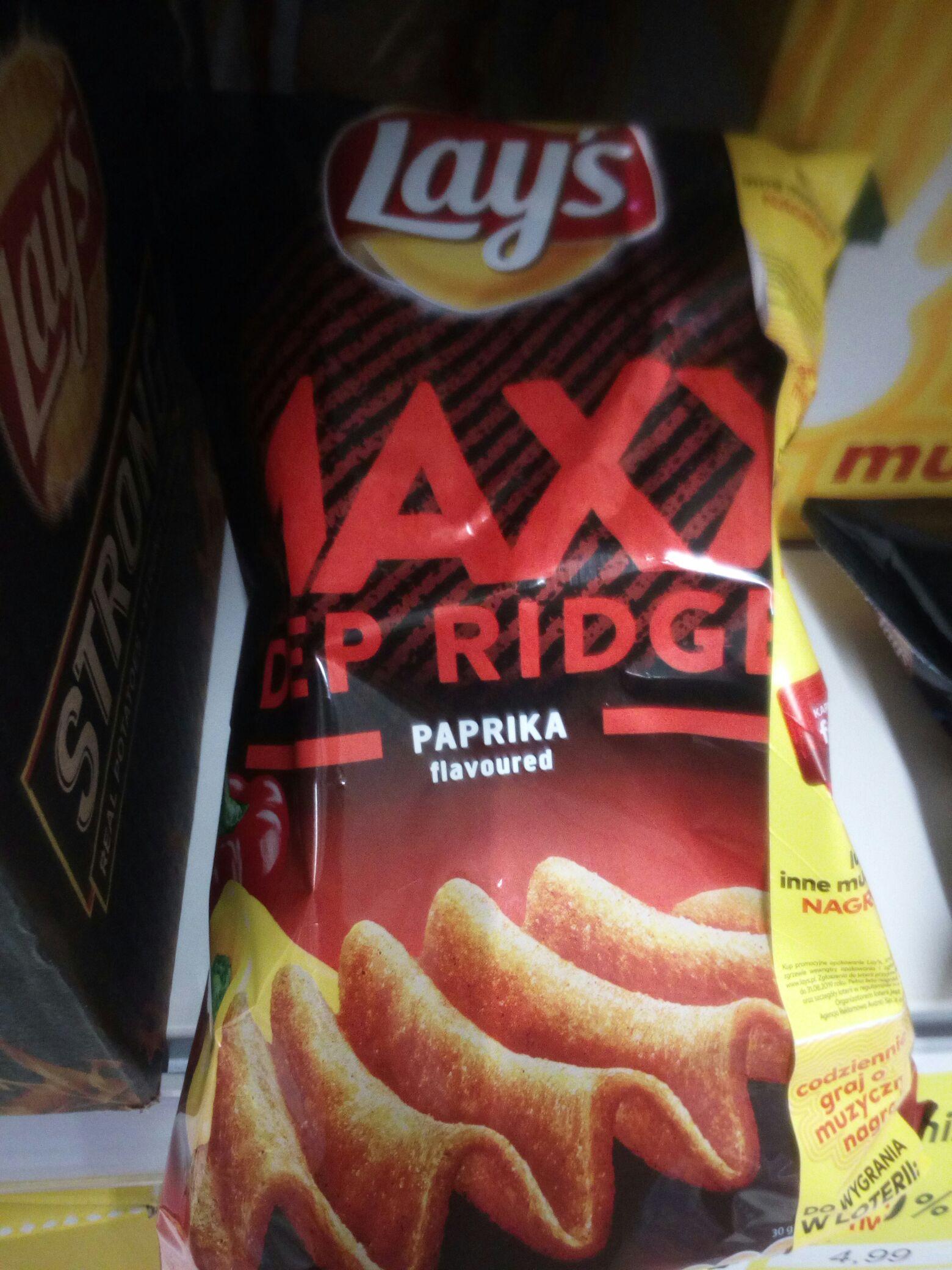 Lay's MAXX Paprykowe zwykle opakowanie 130g GDYNIA Karwiny tesco