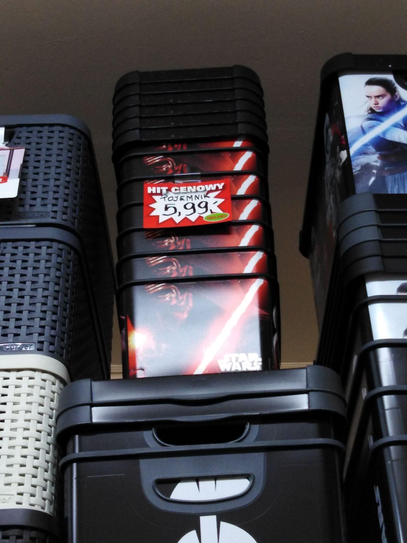 Pudełko/koszyk z logiem Star Wars